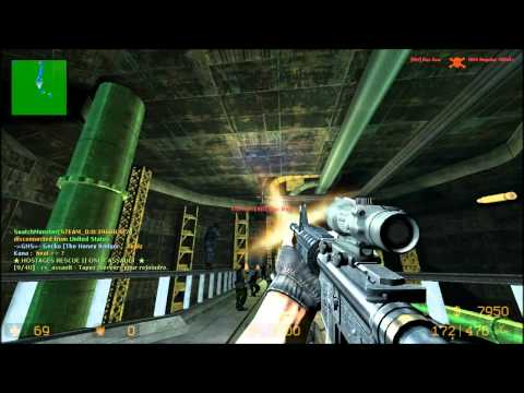 Counter-Strike Source Zombie Escape FF7 Mako Reactor EXTREME II [HD] *2*