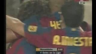 FC Barcelona 3 - Real Betis Balompie 0 2007/08