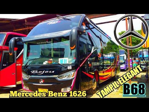 ARMADA BARU !! PO.BEJEU _ B68 Mercedes Benz 1626 Airsuspension   REVIEW