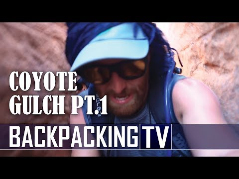 Backpacking Coyote Gulch via Crack-in-the-Wall | Part 1