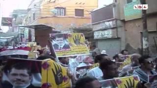 رصد   بني سويف   مسيرة العيد الرافضة للانقلاب العسكري ببا