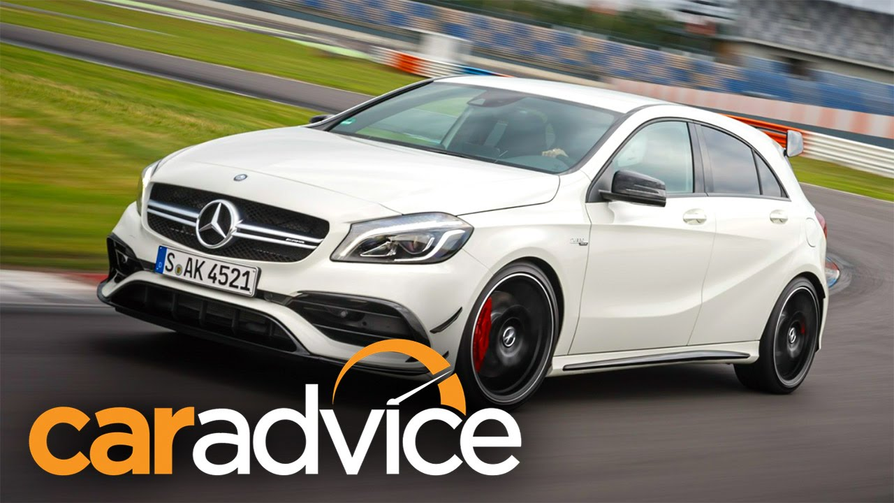 Innovative 2016 MercedesAMG A45 Review  Track Test  YouTube