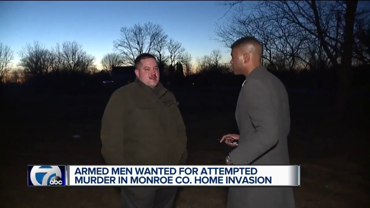 Armed men wanted for attempted murder in Monroe Co. home invasion