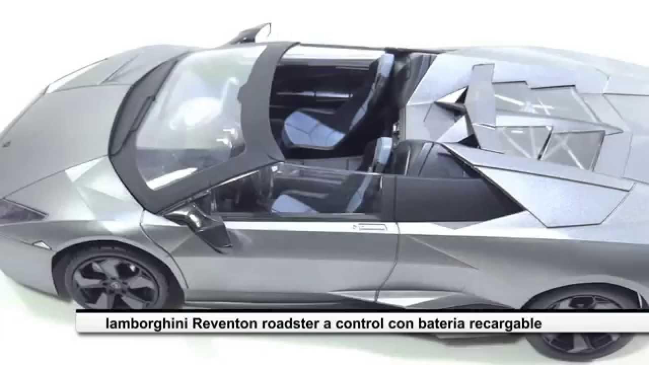Carro Control Remoto Lamborghini Reventon Roadster Escala