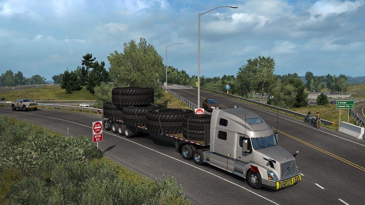 american truck simulator special transport download