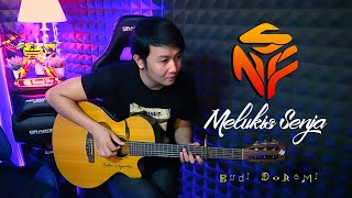 Download Lagu (Budi Doremi) Melukis Senja - Nathan NFS cover mp3