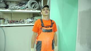 2. Підготовка підстави: Фінішна шпаклівка стін з використанням Крепс КР
