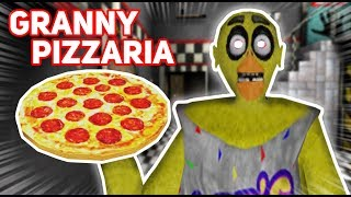Granny Turns Her House INTO FAZBEAR'S PIZZERIA!!! (FNAF MOD) | Granny The Mobile Horror Game (Mods)