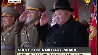 North Korea holds 70th anniversary military parade three months prior