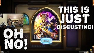 Hearthstone Arena - [Pavel] OH NO! THIS IS JUST DISGUSTING!