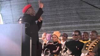 Julius Malema speech Marikana memorial