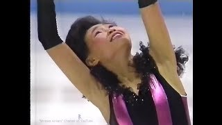"Lu Chen 1991/1992 World Junior (Hull, Canada) - Free Skating ""Capriccio Espagnol"""