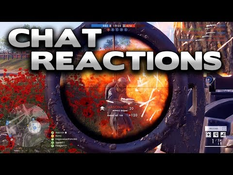 """Battlefield 1 """"how did you blow me off?"""" - Chat Reactions 14 