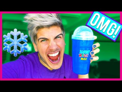 TOY TEST! THE MAGIC SLUSHY MAKER!
