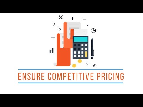 How To Ensure Competitive Pricing