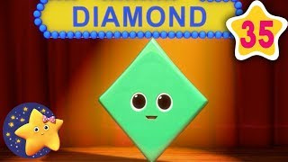How To Learn Shapes Song | Fun Learning with LittleBabyBum | NurseryRhymes for Kids