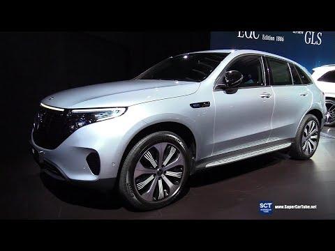 2020 Mercedes Benz EQC Edition 1886 - Exterior Interior Walkaround - Debut 2019 New York Auto Show