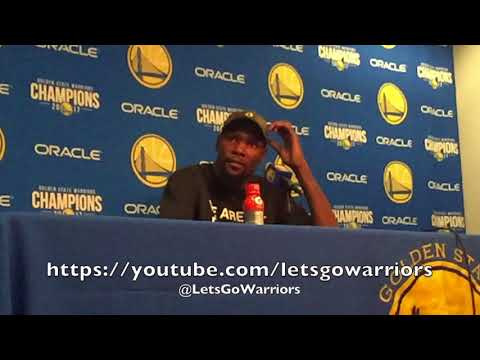DURANT, GSW (11-3) postgame vs Magic: Livingston in absence of Steph Curry, Draymond