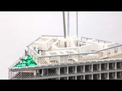 Building nhow Amsterdam RAI: The Lego Model