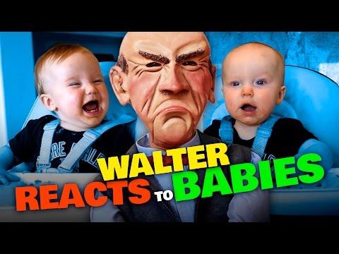Walter REACTS to BABIES   JEFF DUNHAM