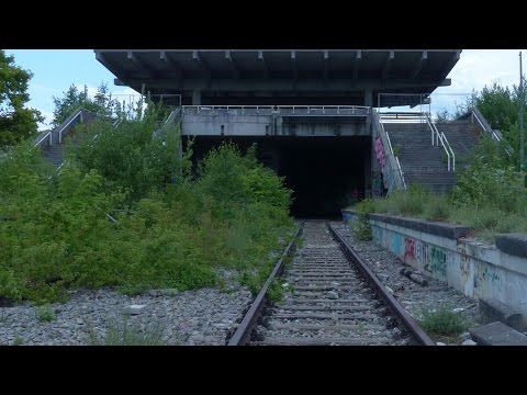Alte S Bahn Olympiastadion München - Lost Places