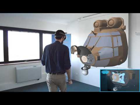 Inscape VTS - Helicopter Maintenance Trainer on HoloLens
