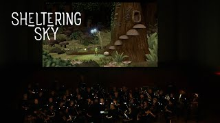 """Sheltering Sky"" Animation Live Performance - Triangle Wind Ensemble"