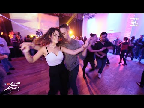 Cedric & Kate Line - social dancing @ LeSalsa'Club Party