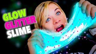 TESTING DIY GLOW IN THE DARK GLITTER SLIME! // SoCassie Mp3