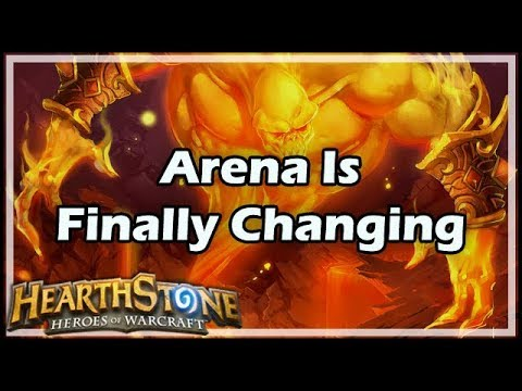 [Hearthstone] Arena Is Finally Changing