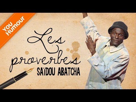 Saïdou ABATCHA - Les proverbes