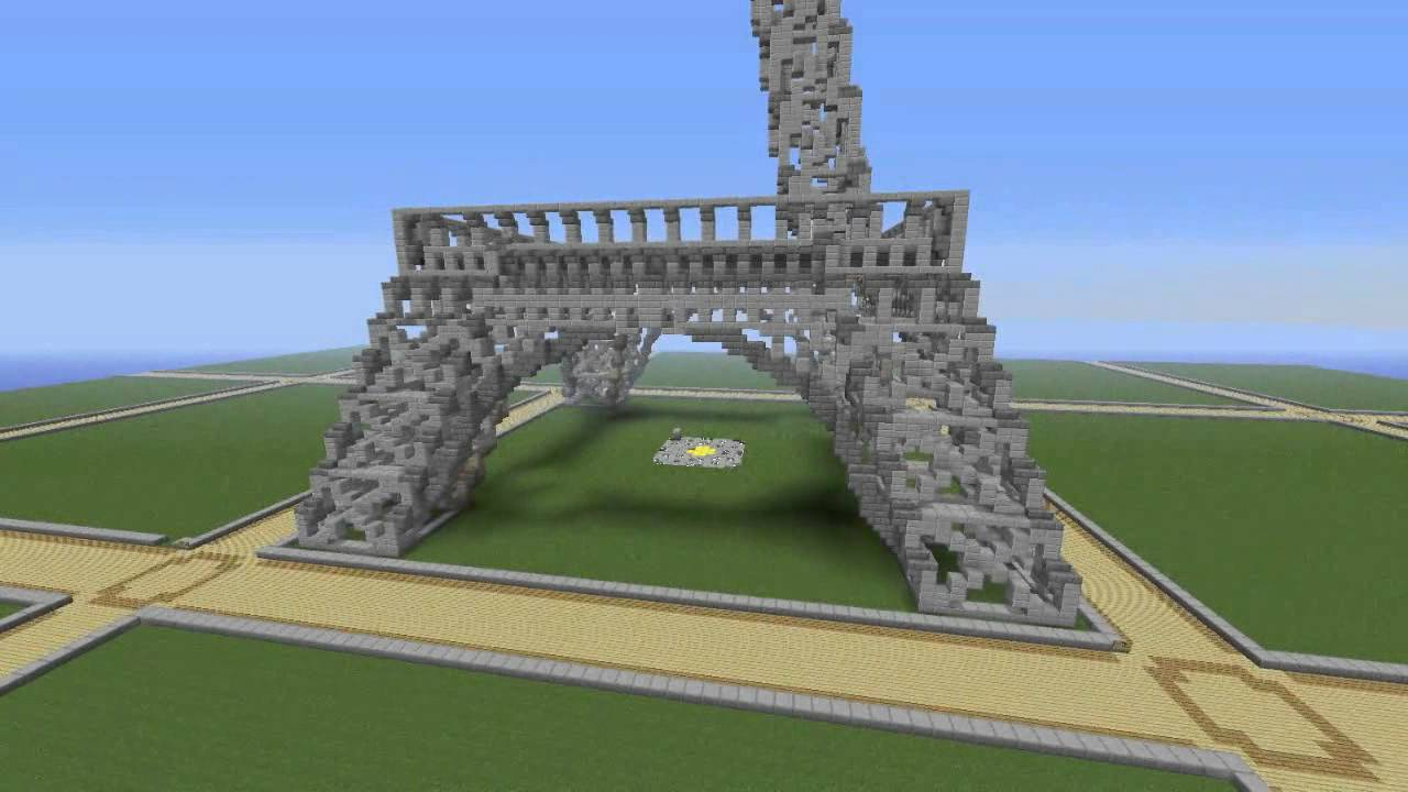 eiffel tower minecraft