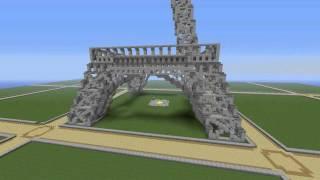 Minecraft Timelapse | Eiffel Tower