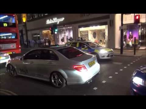 800 bhp Weistec C63 AMG sets off alarms and alerts Police!!