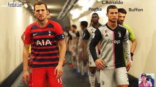 PES 2019   Juventus vs Tottenham   JUV ft. Pogba, Buffon, Rabiot, Icardi, De Ligt, Ramsey