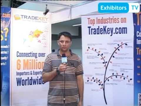 TradeKey exhibits their B2C and C2C portal