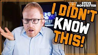 Comedian Learns a Few Things - Steve Hofstetter