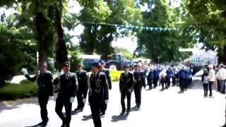 Antreten zum Festumzug Schützenfest Emmeln (Haren/Niedersachsen) 09. Juni 2013