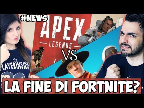 FORTNITE VS APEX LEGENDS + SWITCH E PS4 IN CALO #NEWS