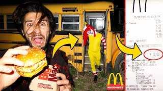 (ACTUALLY WORKED!) DONT SPEND $6.66 AT MCDONALDS AT 3AM OR RONALD MCDONALD WILL APPEAR! (MUST WATCH)