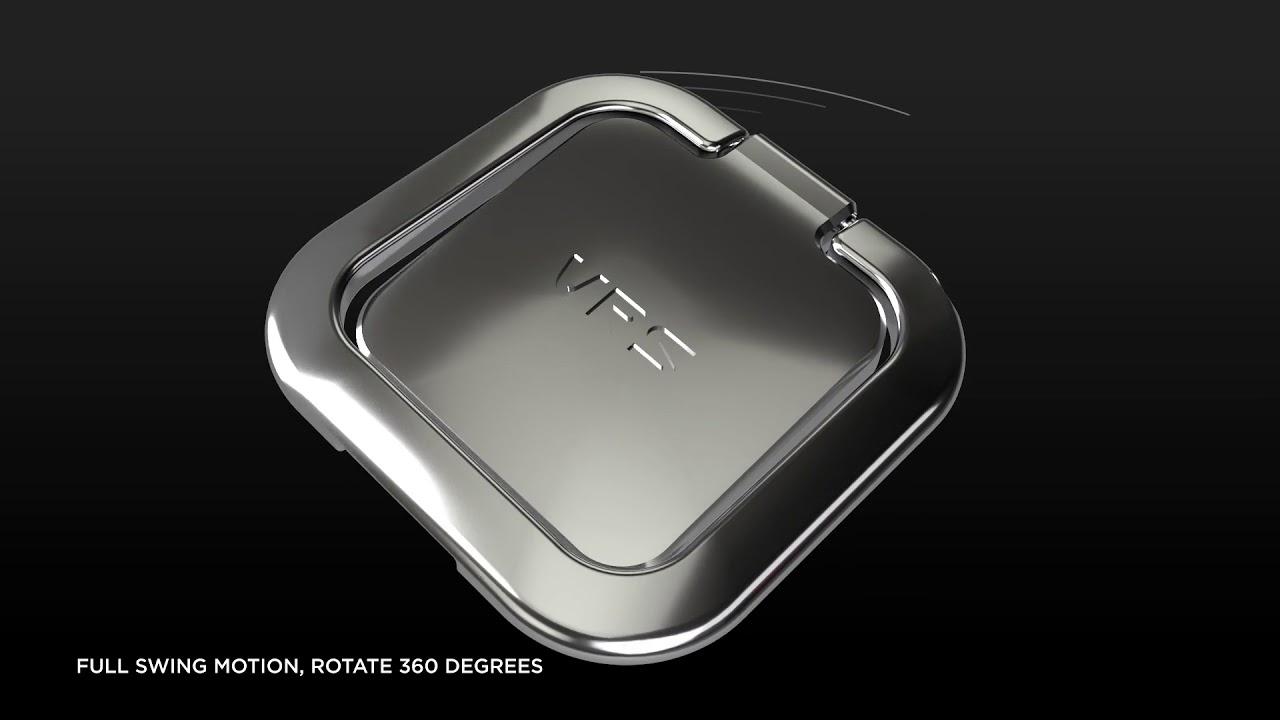 Surface Ring 360 // Satin Silver video thumbnail