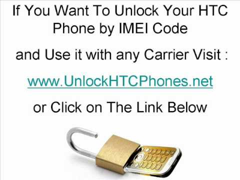 How To Unlock Your HTC Phone (Magic,Max 4G,Ozone,P3470,P6300,P6500,Pure,S630,S710)