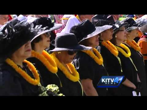 Remembering King Kamehameha at Ali