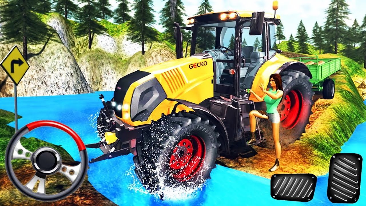 Real Tractor 3D Driver - Offroad Cargo Driving Simulator - Best Android  GamePlay