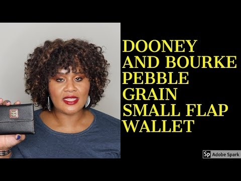 Dooney And Bourke - Pebble Grain Small Flap Wallet