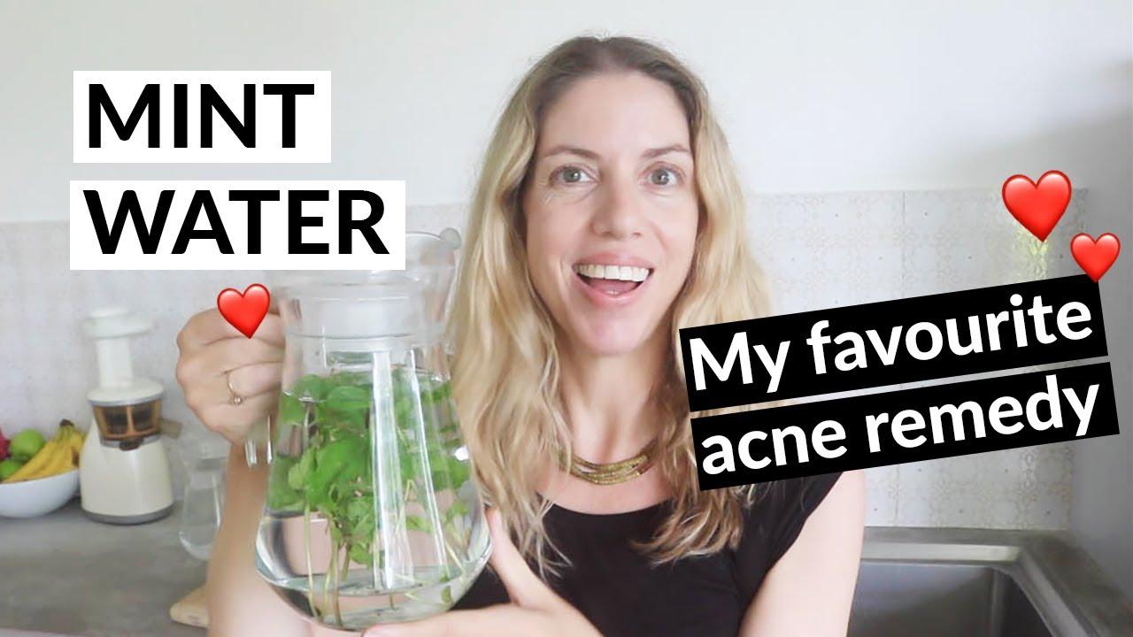 Mint Water & Spearmint Tea For Acne