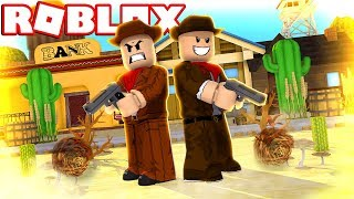Cowboys Vs Sheriffs à Roblox . Revolvers sauvages 'NEW GAME ' iBeMaine (en)