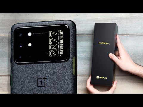 Cyberpunk 2077 OnePlus 8T unboxing