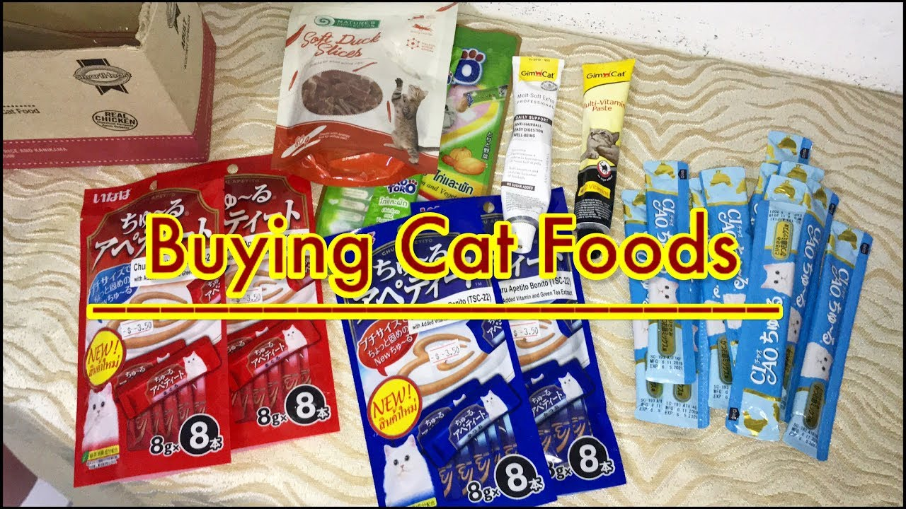 Shopping Haul for Cat foods and other Necessity | mar20