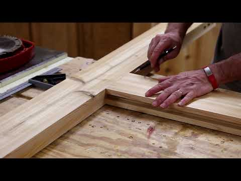 DIY Exterior door - part 2: Door joinery, prep for panels